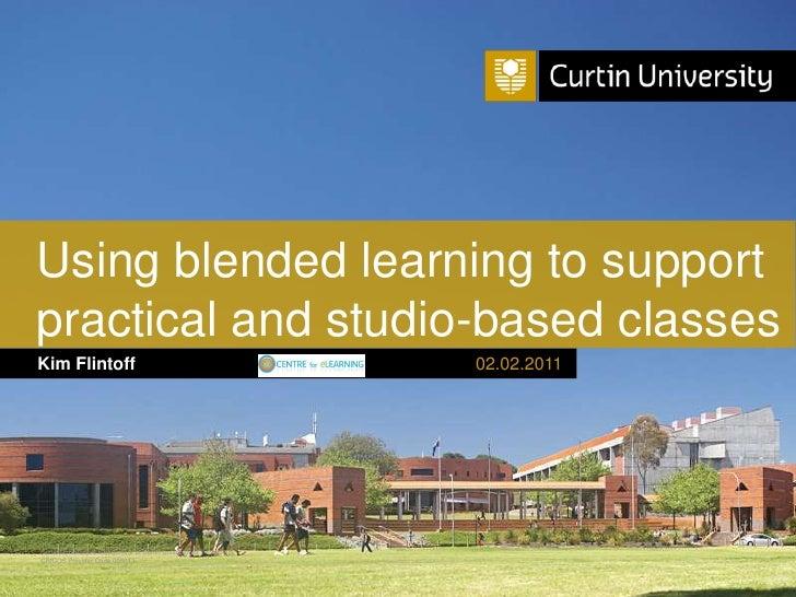 Tlf2011 blended-learning-presentation