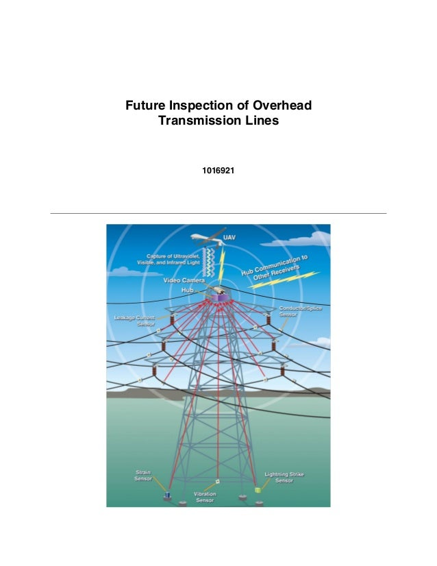 Future Inspection of Overhead Transmission Lines