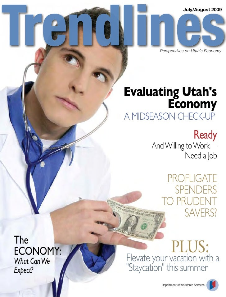 Trendlines: Perspectives on Utah's Economy, July/Aug 2009