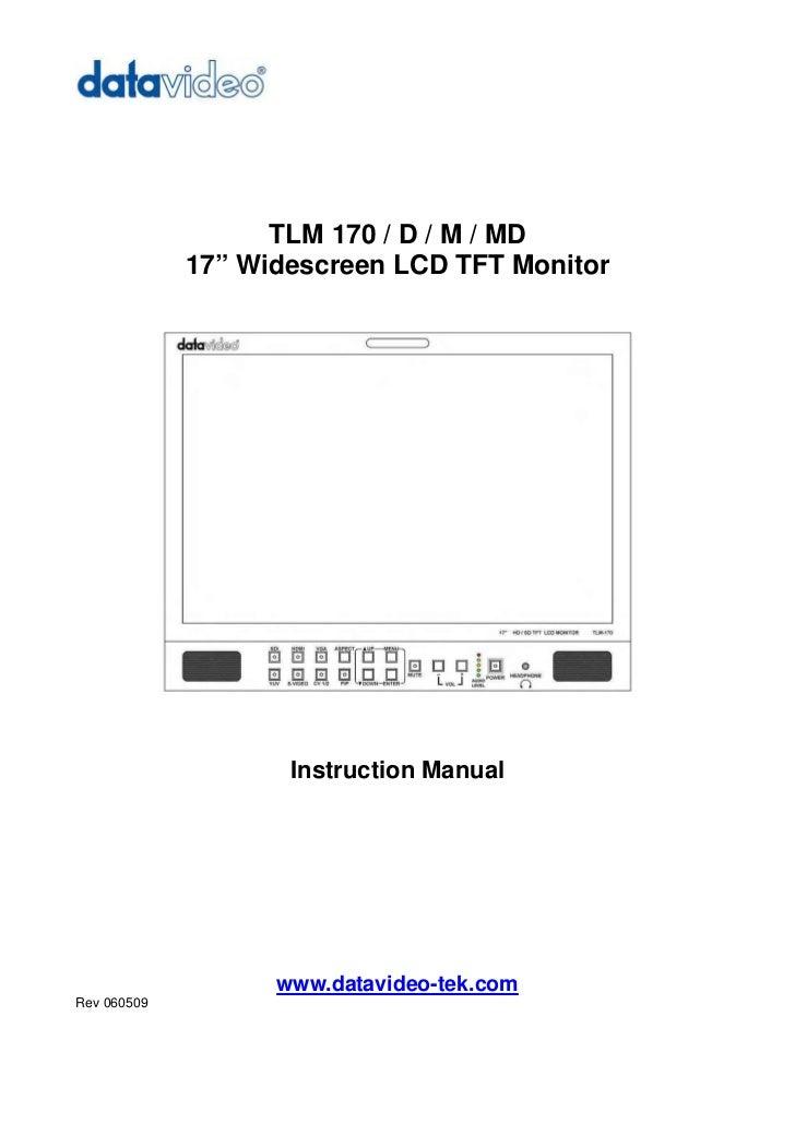Datavideo TLM-170