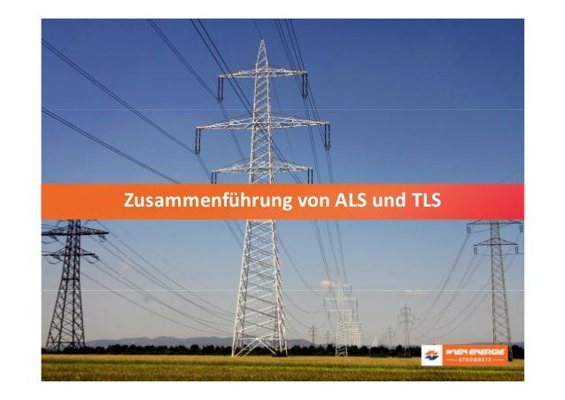 Titelfolie: Wien EnergieZusammenführung von ALS und TLS