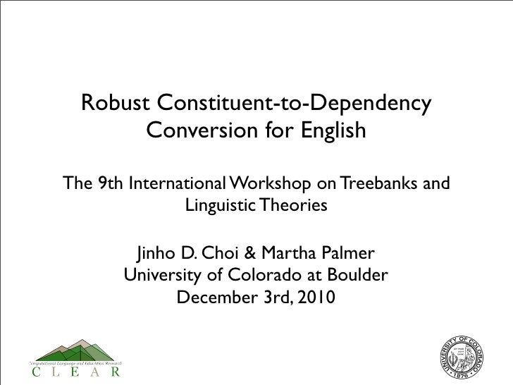 Robust Constituent-to-Dependency Conversion for English