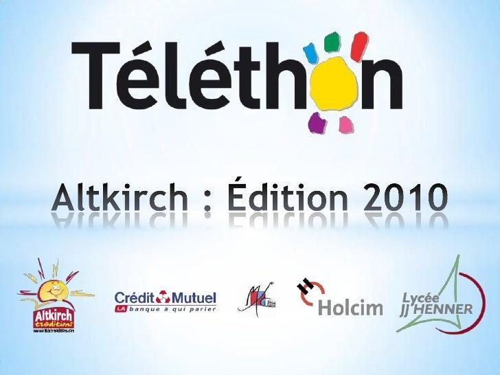 Altkirch : Édition 2010<br />