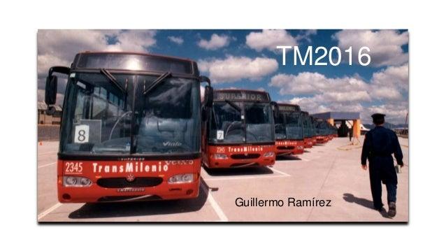 TM2016 Guillermo Ramírez