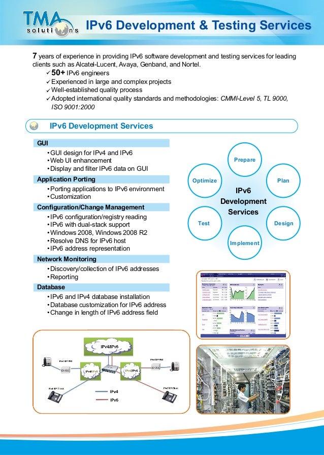 TMA Brochure  IPv6
