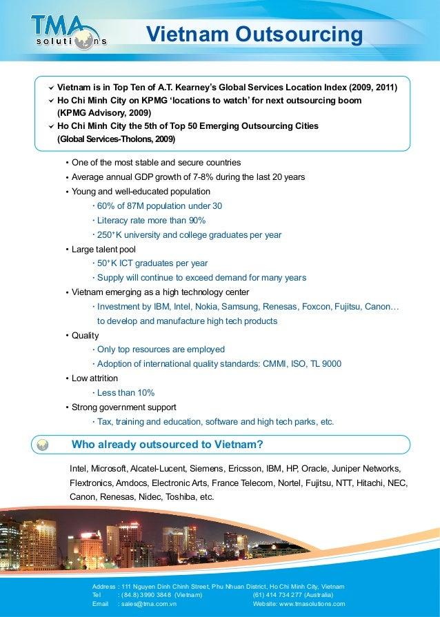 TMA Brochure Vietnam Outsourcing