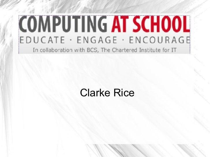 Clarke Rice