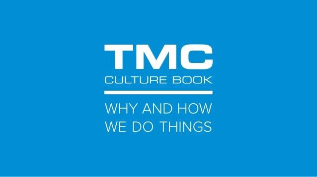 Telemedicine Clinic (TMC) Culture Book