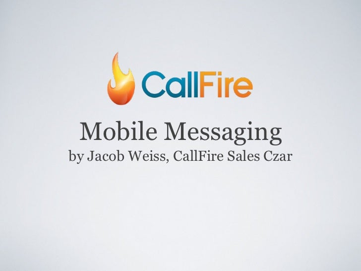SMS, Voice, and Video Mobile Messaging for Small Businesses