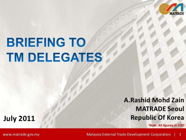 Tm delegates 23 july 2011