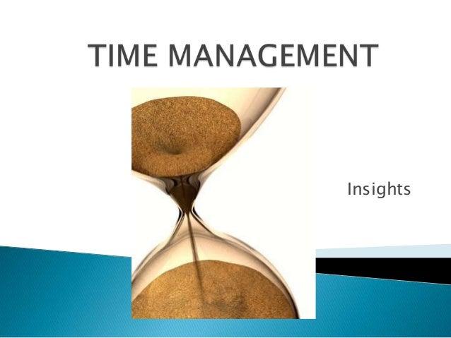 Time management ppt for teachers