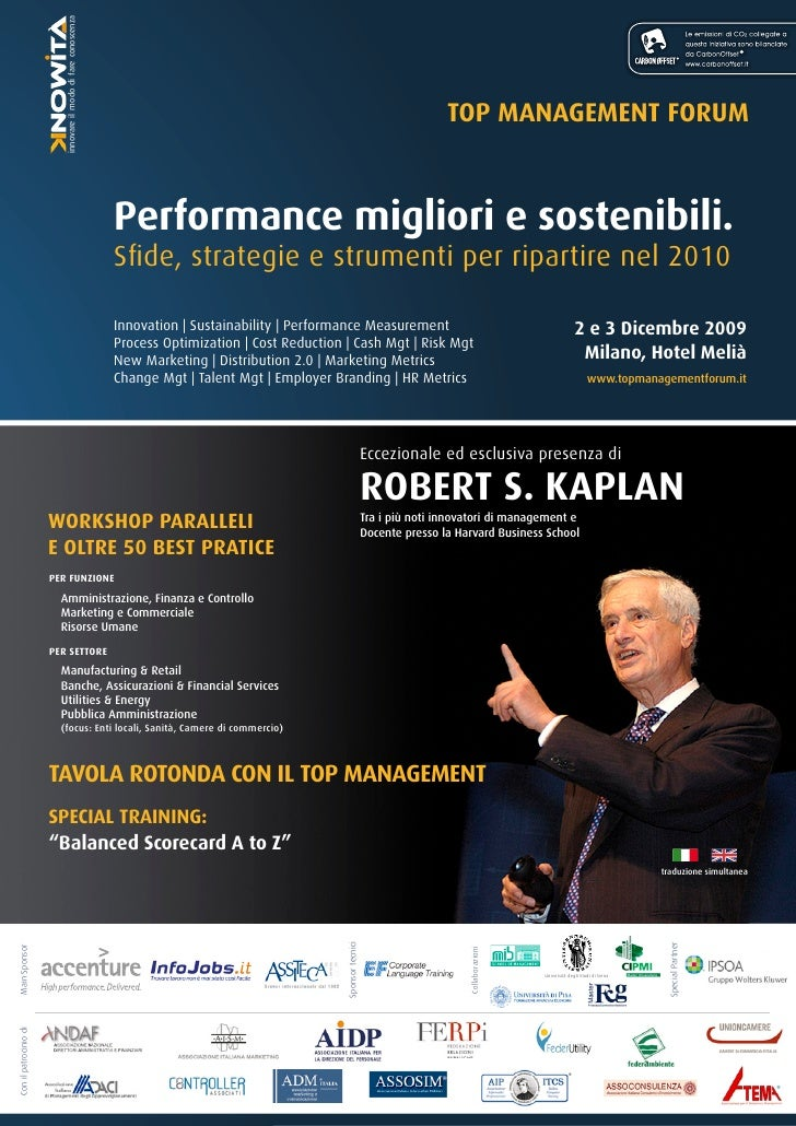 Performance migliori e sostenibili.                                                                                       ...