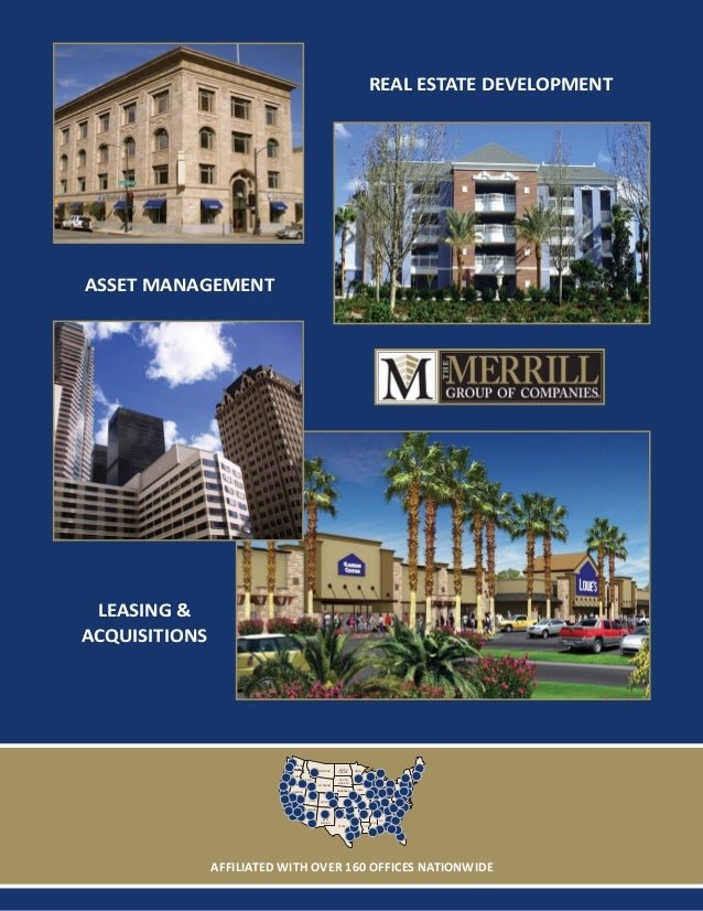 Real Estate Development Companies : The merrill group of companies development brochure