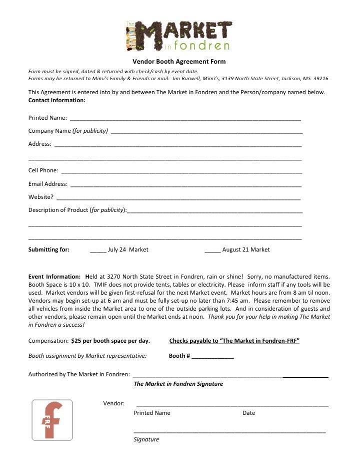 Form NEW FORM FOR VENDORS