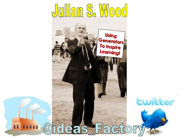 Teachmeet international Julian S Wood