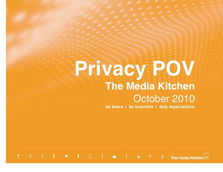 Online Privacy & Targeting POV