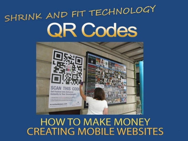 QR Codes and Mobile Websites