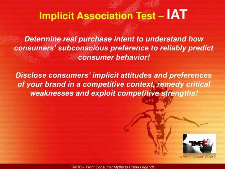 TMRC IAT Brief Intro