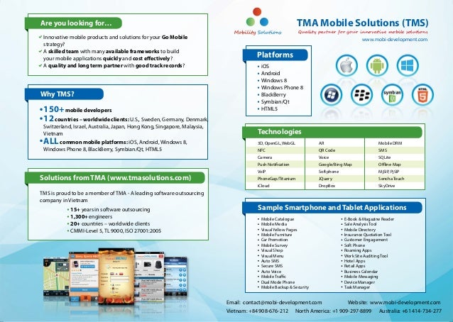Are you looking for…                                                                                      TMA Mobile Solut...