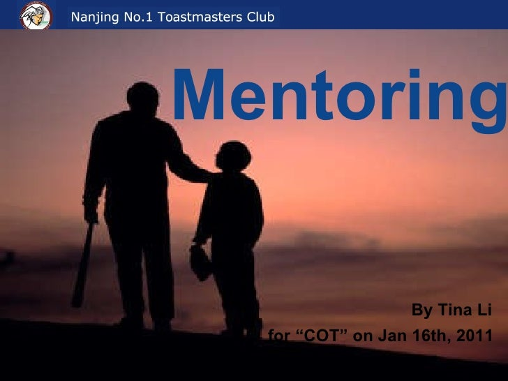 "Mentoring  By Tina Li for ""COT"" on Jan 16th, 2011"