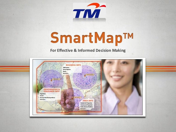 Smart Map solution for franchise - Telekom Malaysia