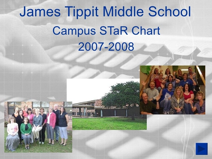 James Tippit Middle School Campus STaR Chart 2007-2008