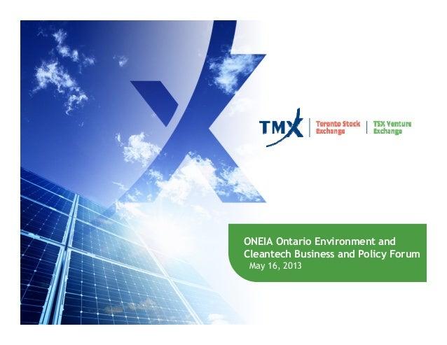 TMX presentation, May 16, 2013