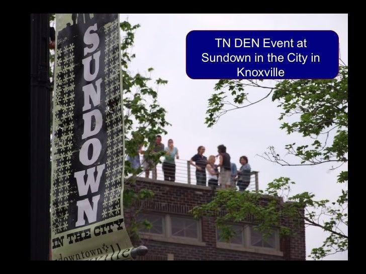 TN DEN Sundown in the City