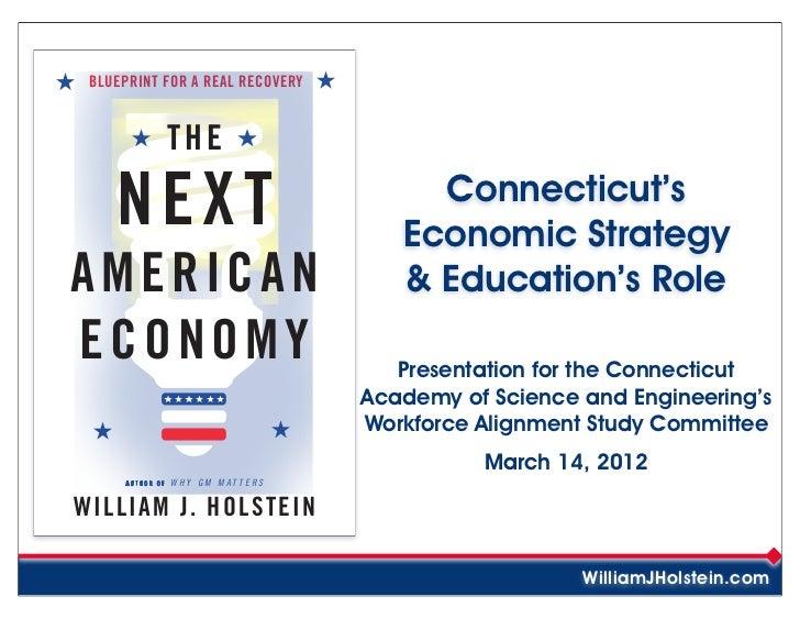 The Next American Economy - Connecticut