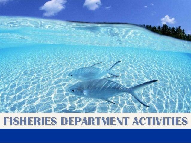 Fisheries Department activities (Tamil Nadu)_2013