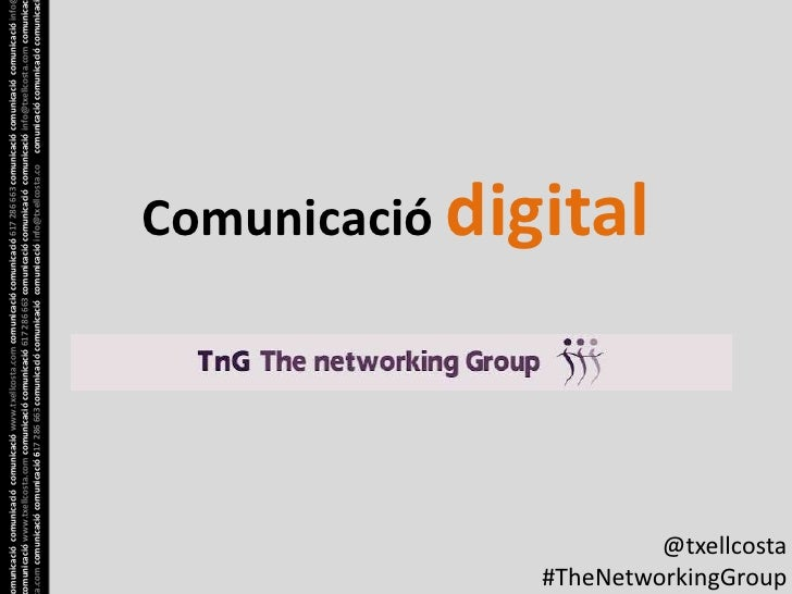 Comunicacio digital per a TheNetworkingGroup