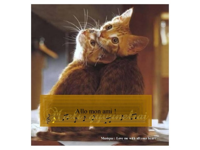 Allo mon ami ! Musique : Love me with all your heartMusique : Love me with all your heart