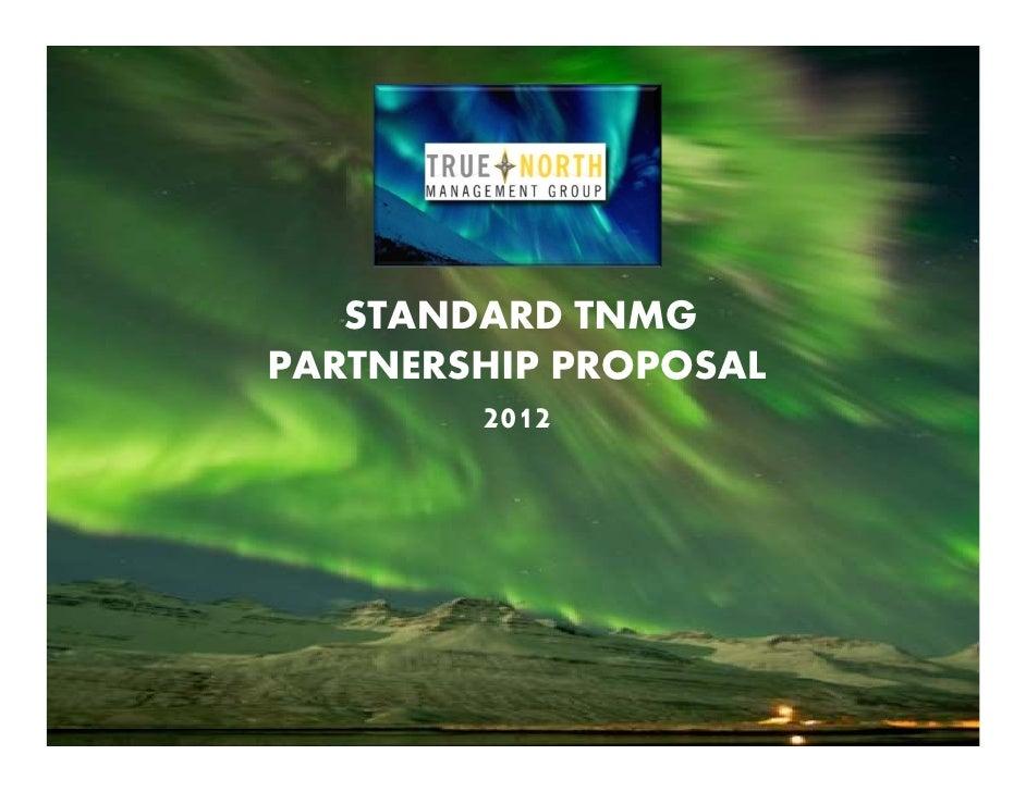 TNMG Standard Proposal 2012