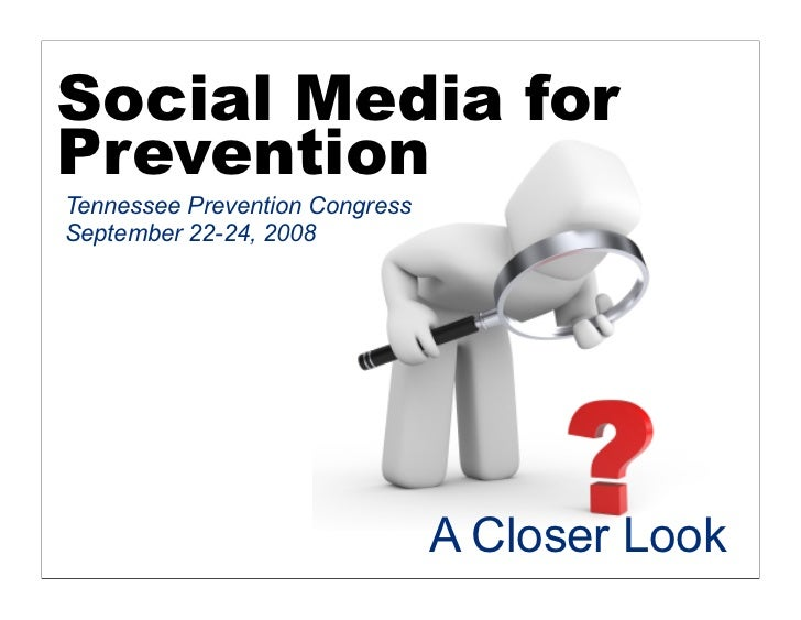 Tennessee Social Media for Prevention