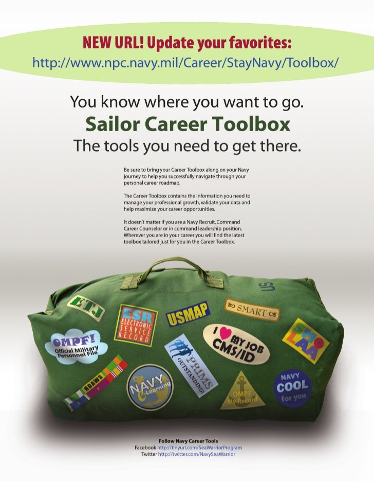 NEW Navy Career Tools ad JUNE 2011