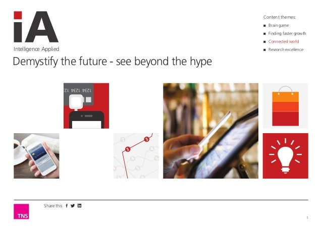 Demystify the future - see beyond the hype
