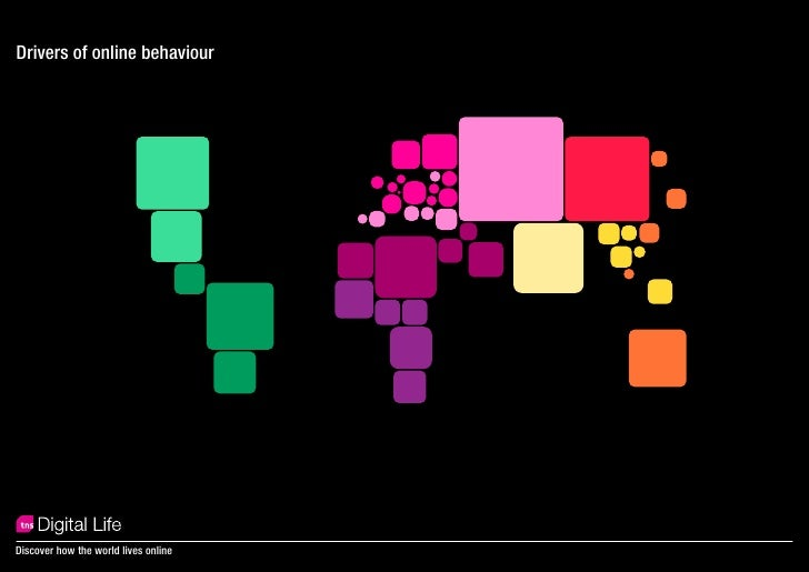 Drivers of online behaviour     Discover how the world lives online