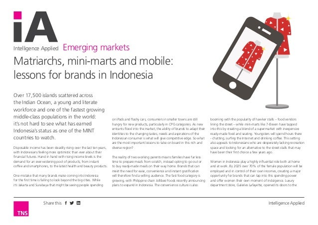 The marketers guide to Indonesia