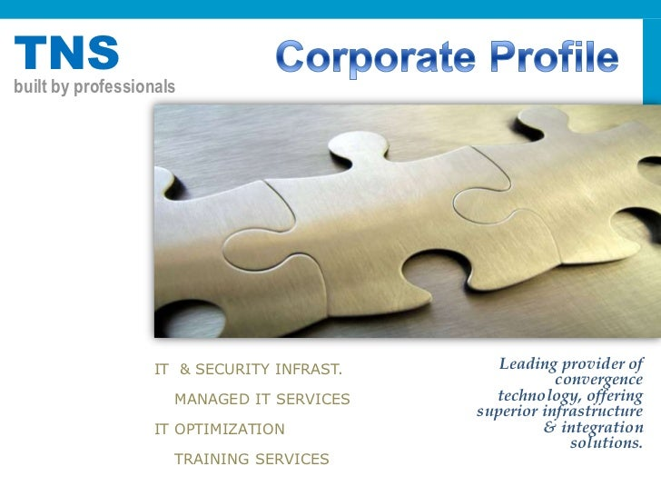 TNS Networking Solutions Company Profile
