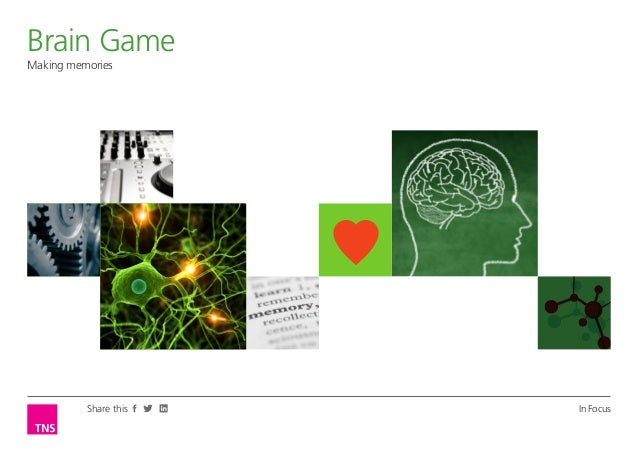 Brain GameOpinion LeaderMaking memories          Share this   In Focus