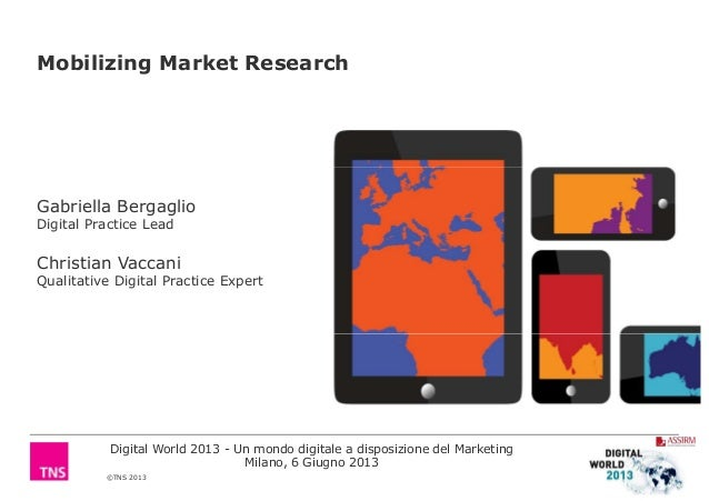 Mobilizing Market ResearchGabriella BergaglioDigital Practice LeadChristian VaccaniQualitative Digital Practice Expert©TNS...