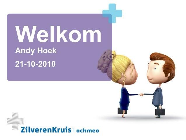 1 Andy Hoek 21-10-2010 Welkom