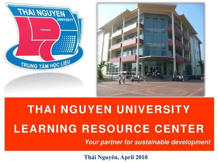 Tnu Lrc Introduction Eng