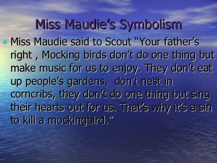 to kill a mockingbird mockingbird quote