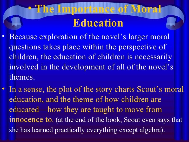 Essay On Moral