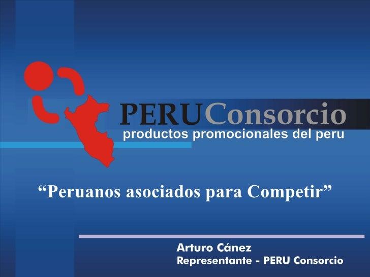 """""""Peruanos asociados para Competir"""""""
