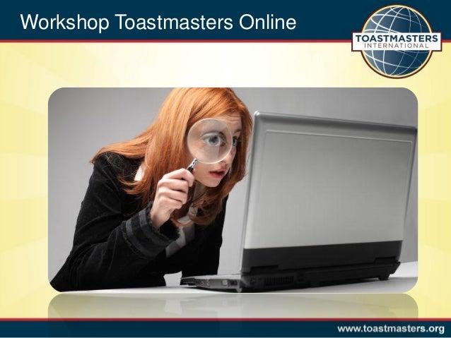 Toastmasters BelgiumImprove our online PresenceWorkshop Toastmasters Online