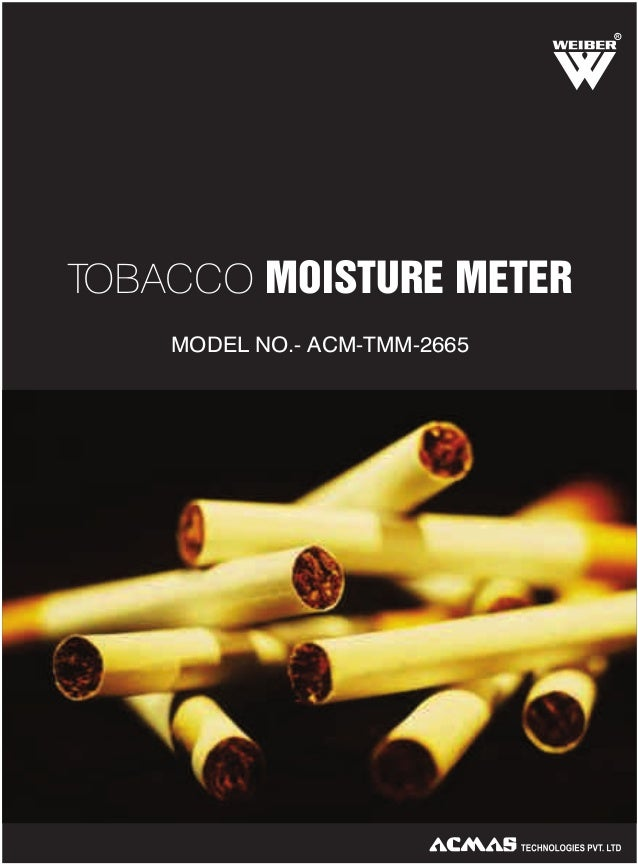 R  TOBACCO MOISTURE METER MODEL NO.- ACM-TMM-2665