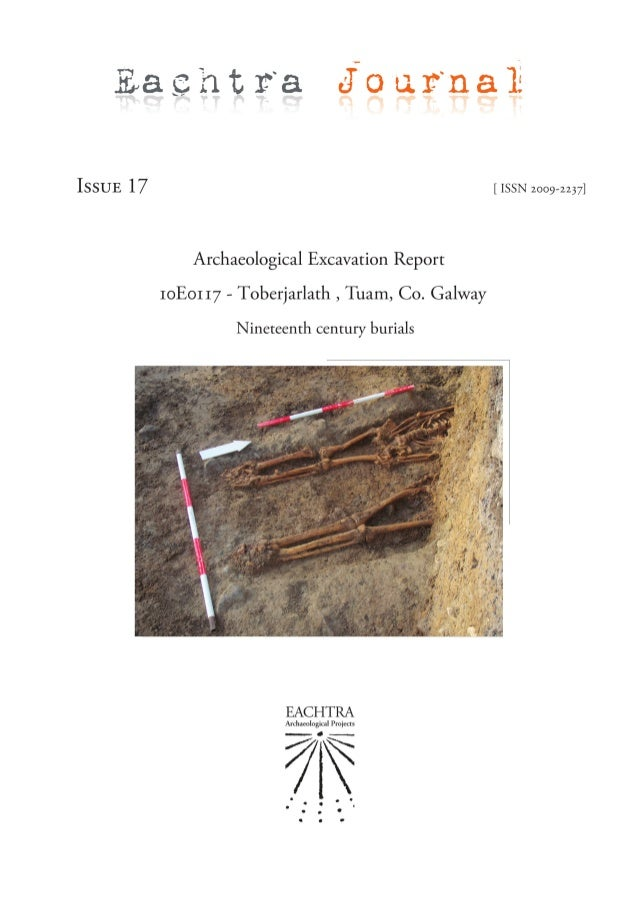 April 2014 Archaeological Excavation Report Co Galway Coffey Construction and Galway County Council Finn Delaney, Jacinta ...