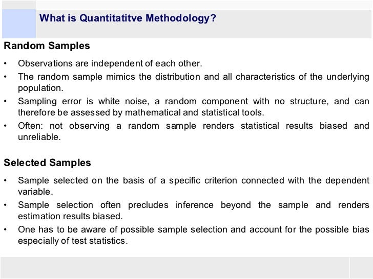 What is a methodology and how do i write one?